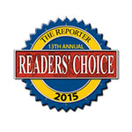 The Reporter Readers' Choice logo