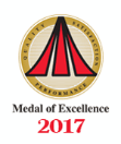 2017 medal of excellence logo