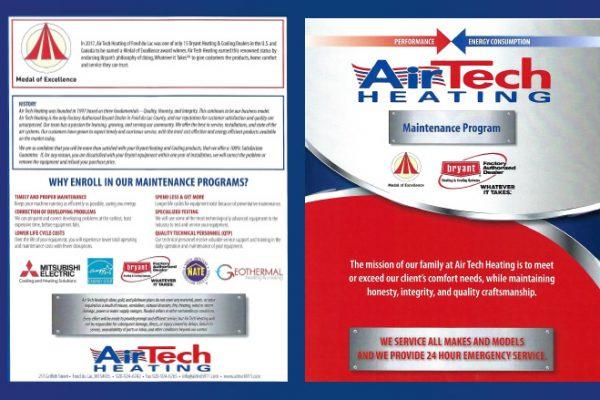 air tech hvac maintenance brochure