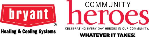 Bryant Community Heroes Logo