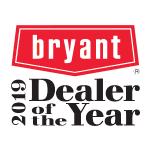 2019 Bryant Dealer of the Year logo