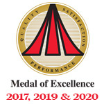 Bryant Medal of Excellence Winner 2017, 2019 & 2020