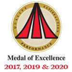 Bryant Medal of Excellence Winner 2017, 2019 & 2020